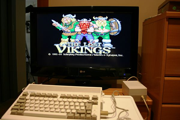 Amiga 600HD - The Lost Vikings